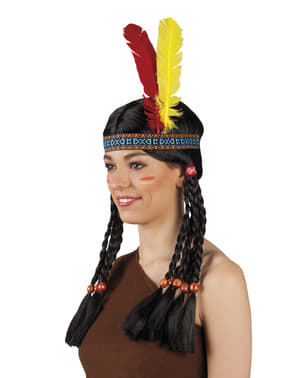 Copricapo indiano della tribù unisex