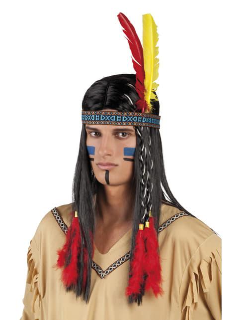 Tocado indio de la tribu unisex - para tu disfraz