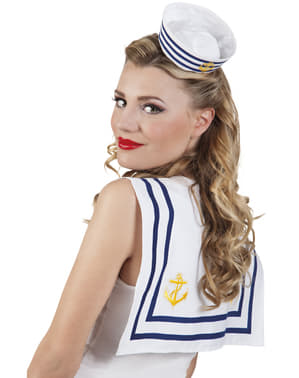 Unisex sailor collar