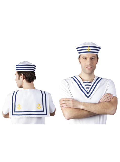 Unisex sailor collar