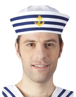 Chapéu de marinheiro para homem