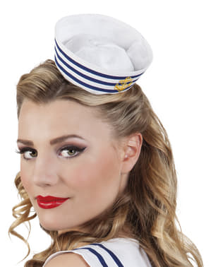 Womens mini sailor hat