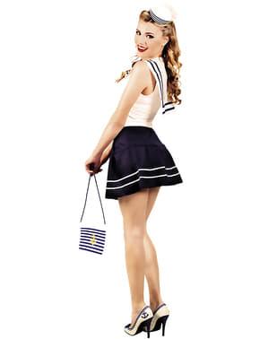 Mini chapéu de marinheira para mulher