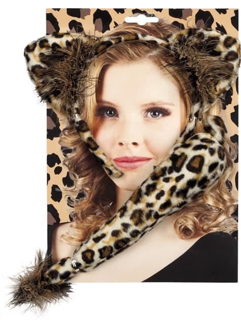 Набір аксесуарів жіночого леопарда