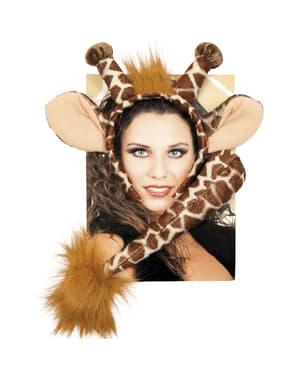 Set accessori giraffa donna
