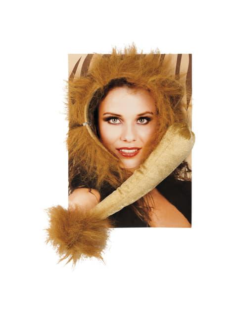 Kit acessórios de leão para mulher