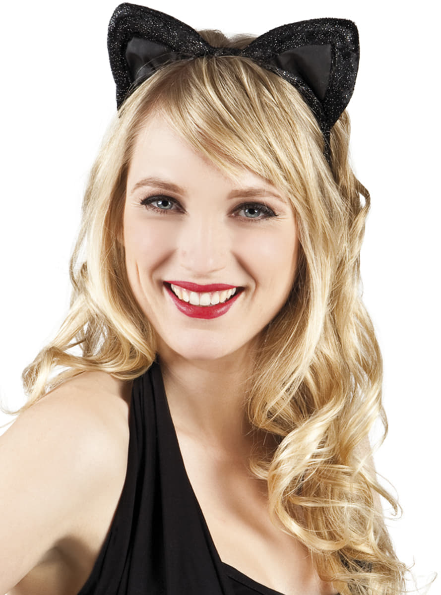 oreilles de chat femme pour d guisement funidelia. Black Bedroom Furniture Sets. Home Design Ideas