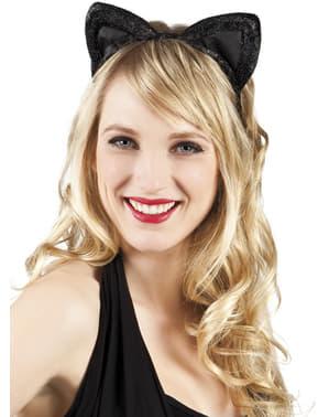 Orelhas de gatinha para mulher