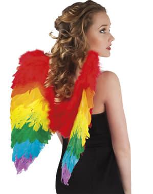 Tęczowe skrzydła Anioł dla kobiet