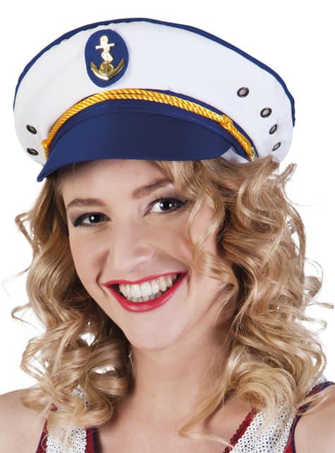 Sombrero de capitana Joyce para mujer