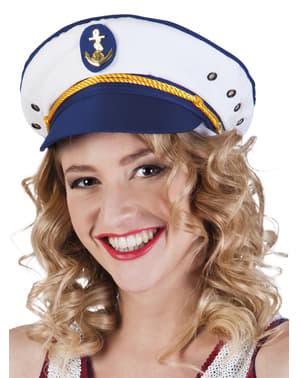 Sombrero de capitán para adulto