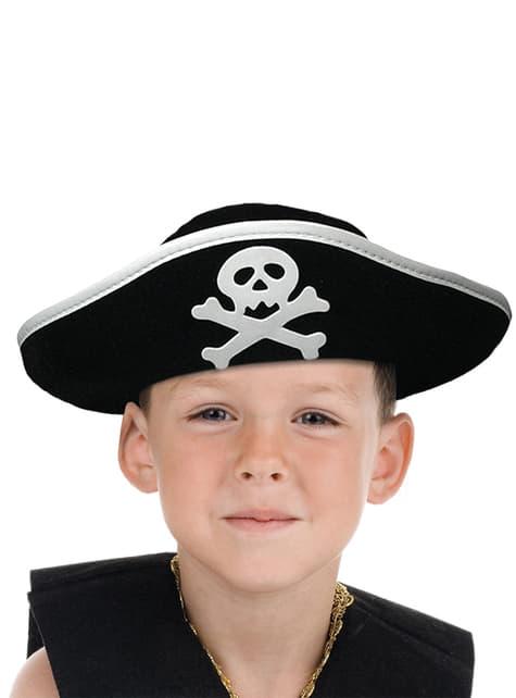Sombrero capitán de barco para niño
