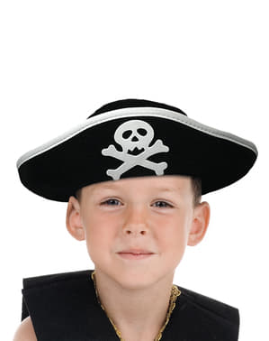 Kids ship captain cap