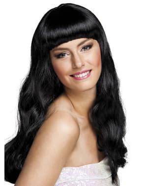 Womens black Chique wig