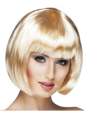 Peruka Cabaret blond damska