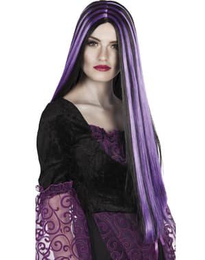 Perucă de vrăjitoare senzuală pentru femeie
