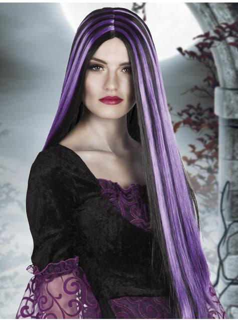 Pruik charmante heks voor vrouw