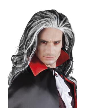 Peruca de vampiro para homem