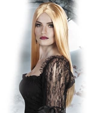 Женска блондинка вещица