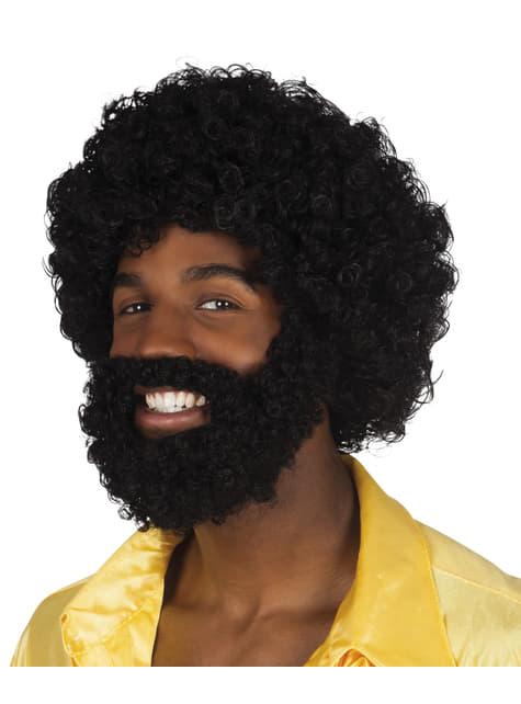 Kit de peluca y barba Rufus para hombre