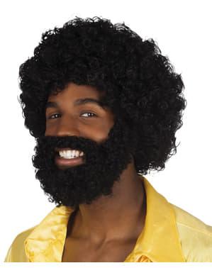 Rufus Kit med peruk och skägg Herr