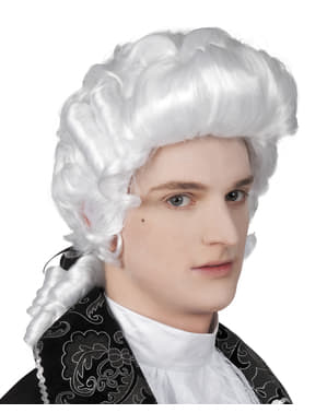 Mens baroque wig