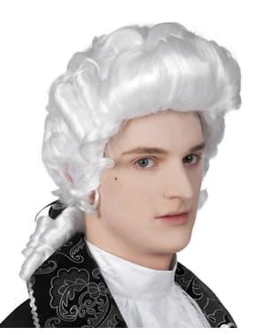 Peluca barroco para hombre