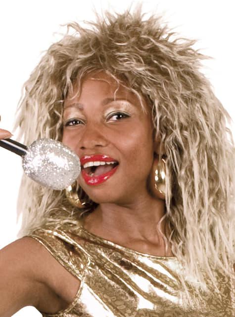 Womens rock diva wig