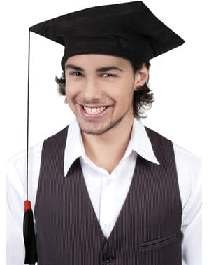 Mens graduation cap