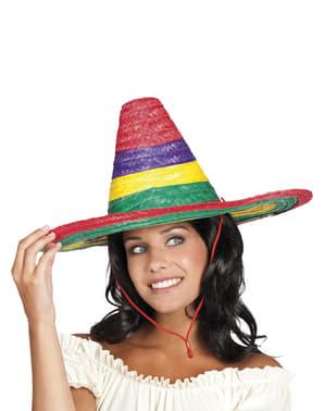 Chapéu mexicano de Puebla para homem