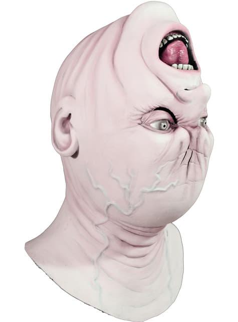 Máscara Cabeza Girada de látex - para tu disfraz
