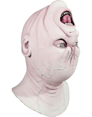Backwards Head latex maske