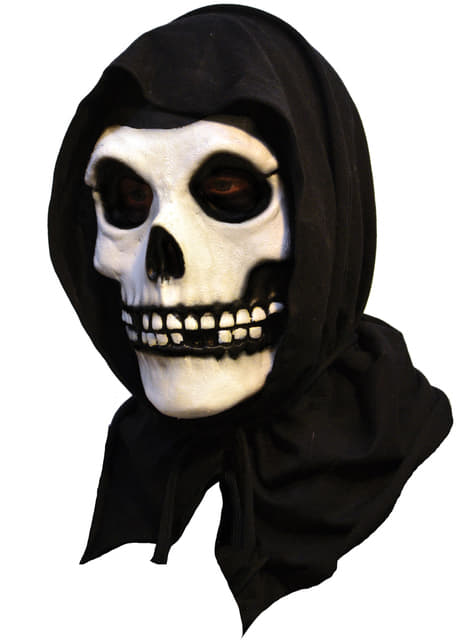The Fiend Misfits latex mask with hood