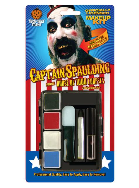 House of 1000 Corpses Kaptajn Spaulding make-up sæt