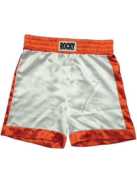 Boxer Rocky Balboa pants