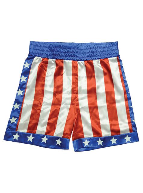 Rocky Apollo Creed boxing shorts