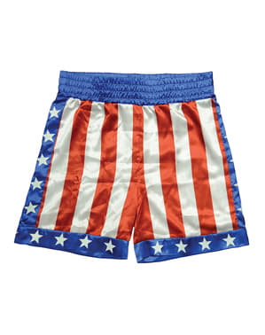 Rocky Apollo Creed boxing shorts