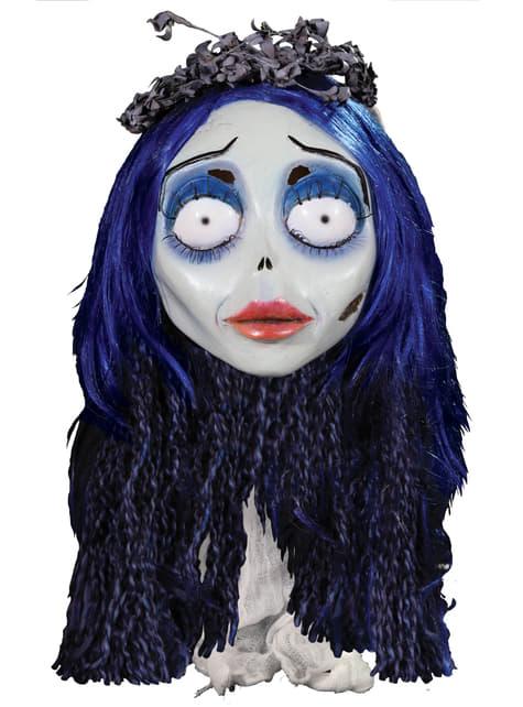 Máscara Emily de La Novia Cadáver de látex