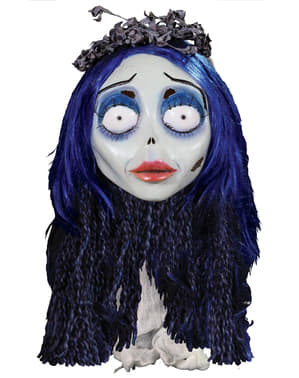 Corpse Bride Emily latex maske
