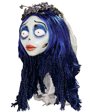 Masker van latex Emily Corpse Bride