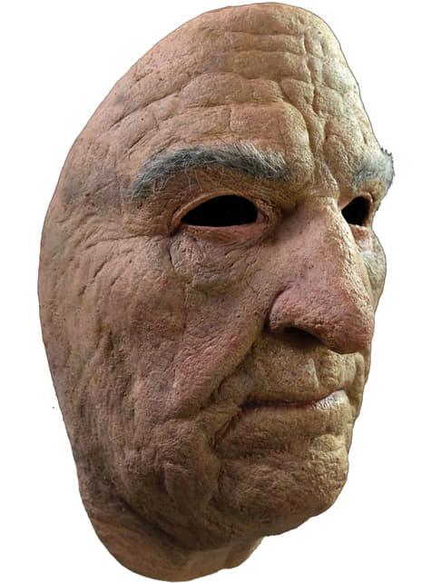 Máscara de anciano face mask