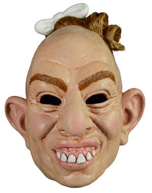 Máscara de Pepper de American Horror Story em látex