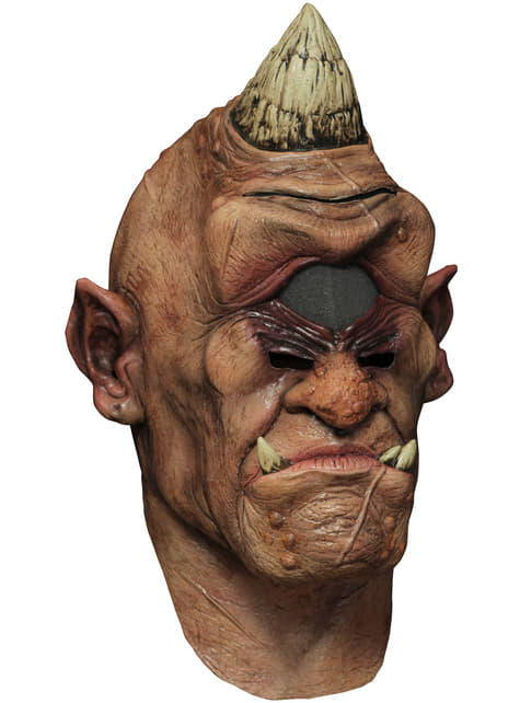 Digital Wandering Eye Cyclops Maske aus Latex