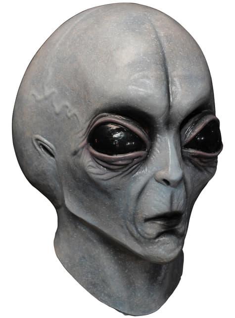 Máscara Alien Área 51 de látex