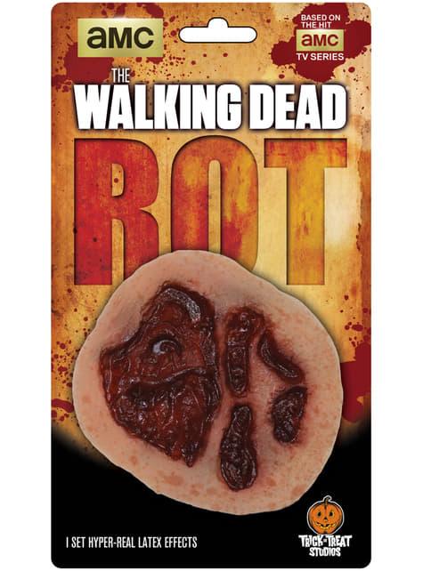 Prótesis de herida infectada The Walking Dead de látex