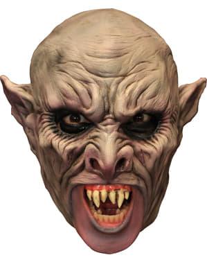 Vamppi lateksinaamio hampailla