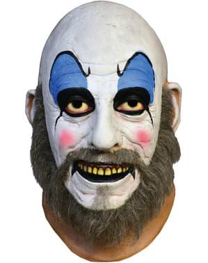 Maska lateksowa Kapitan Spaulding Dom Tysiąca Trupów
