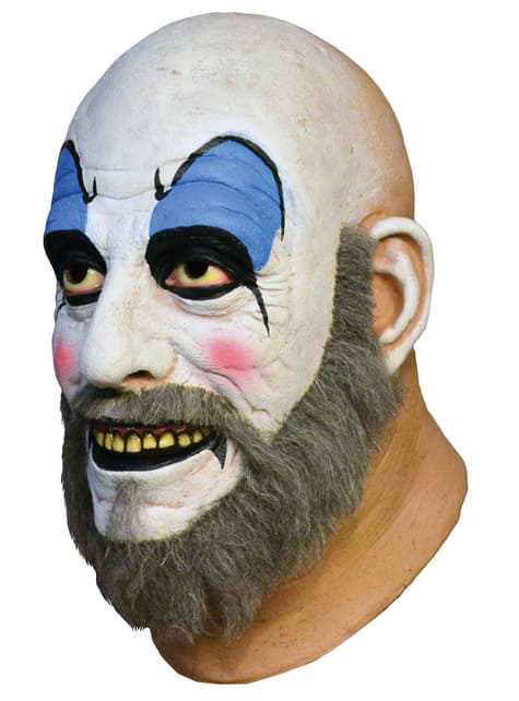 Máscara Capitán Spaulding House of 1000 Corpses de látex - para tu disfraz
