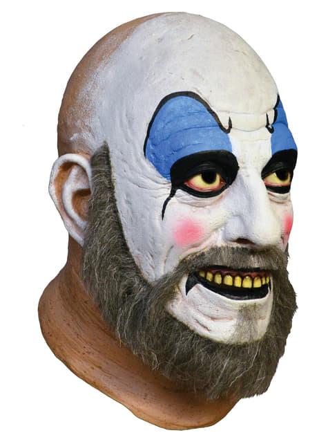 Máscara Capitán Spaulding House of 1000 Corpses de látex - original