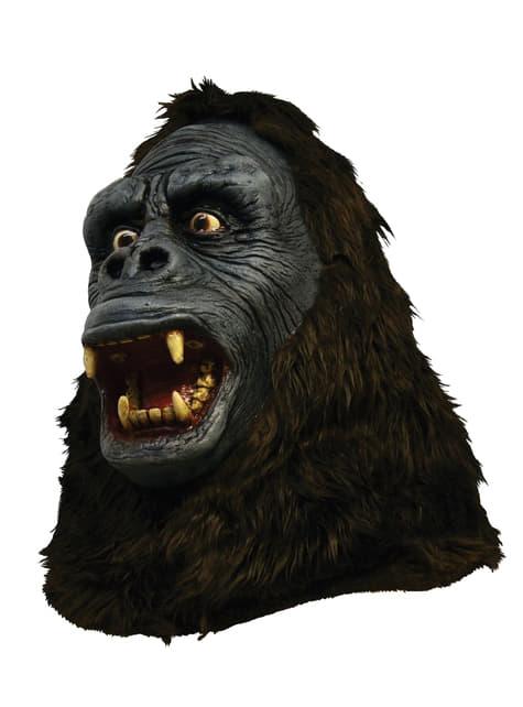 Máscara de King Kong de látex - para tu disfraz